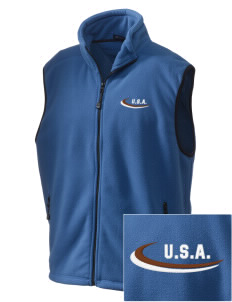 Oklahoma Embroidered Unisex Wintercept Fleece Vest
