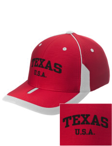 Texas Embroidered M2 Universal Fitted Contrast Cap
