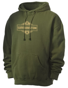 Washington Men's 80/20 Pigment Dyed Hooded Sweatshirt