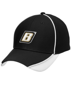 Bryant University Bulldogs Embroidered New Era Contrast Piped Performance Cap