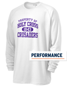 College of the Holy Cross Crusaders Men's Ultimate Performance Long Sleeve T-Shirt