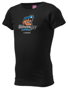 Grand Valley State University Lakers  Girl's Fine Jersey Longer Length T-Shirt