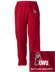 Ohio Wesleyan University Battling Bishops Embroidered Holloway Men's Flash Warmup Pants