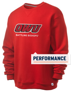 Ohio Wesleyan University Battling Bishops  Russell Men's Dri-Power Crewneck Sweatshirt