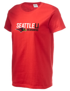 Seattle University Redhawks Women's 6.1 oz Ultra Cotton T-Shirt