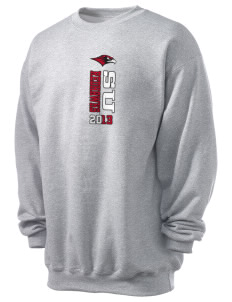 Seattle University Redhawks Men's 7.8 oz Lightweight Crewneck Sweatshirt
