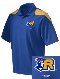 Rollins College Tars Embroidered Holloway Men's Frequency Performance Pique Polo