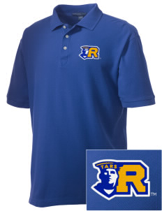 Rollins College Tars Embroidered Men's Performance Plus Pique Polo