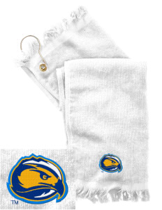 Fort Lewis College Skyhawks  Embroidered Grommeted Finger Tip Towel