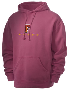 Flagler College Saints Men's 80/20 Pigment Dyed Hooded Sweatshirt