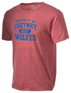 Cheyney University Wolves Alternative Men's Eco Heather T-shirt