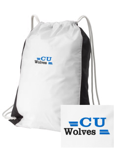Cheyney University Wolves Embroidered Holloway Home and Away Cinch Bag