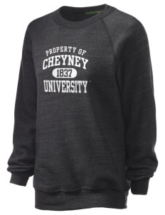 Cheyney University Wolves Unisex Alternative Eco-Fleece Raglan Sweatshirt