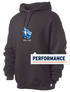 Cheyney University Wolves Russell Men's Dri-Power Hooded Sweatshirt