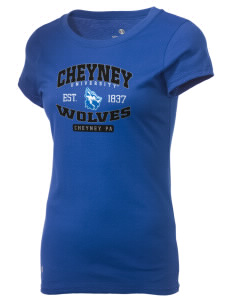 Cheyney University Wolves Holloway Women's Groove T-Shirt