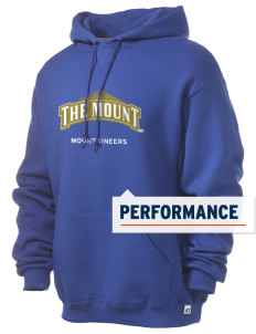 Mount St. Mary's University Mountaineers Russell Men's Dri-Power Hooded Sweatshirt