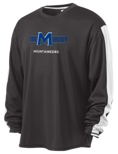 Mount St. Mary's University Mountaineers  Russell Men's Long Sleeve Everyday Performance T-Shirt