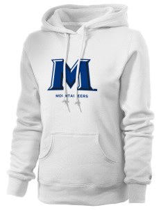 Mount St. Mary's University Mountaineers Russell Women's Pro Cotton Fleece Hooded Sweatshirt