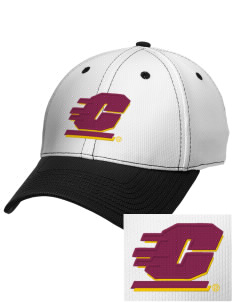 Central Michigan University Chippewas Embroidered New Era Snapback Performance Mesh Contrast Bill Cap