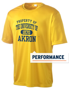 The University of Akron Zips Men's Competitor Performance T-Shirt