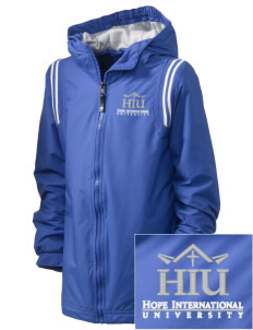 Hope International University Royals Embroidered Holloway Kid's Titan Hooded Jacket