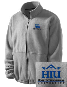 Hope International University Royals Embroidered Men's Fleece Jacket