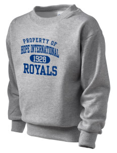 Hope International University Royals Kid's Crewneck Sweatshirt