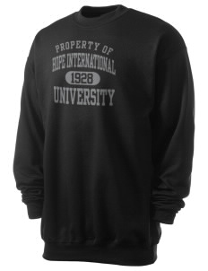 Hope International University Royals Men's 7.8 oz Lightweight Crewneck Sweatshirt