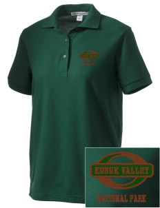 Kobuk Valley National Park Women's Embroidered Silk Touch Polo