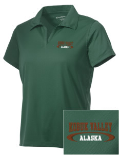 Kobuk Valley National Park Embroidered Women's Double Mesh Polo