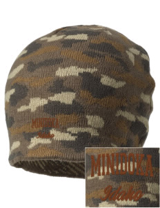 Minidoka National Historic Site Embroidered Camo Beanie