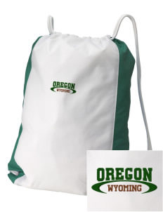 Oregon National Historic Trail Embroidered Holloway Home and Away Cinch Bag