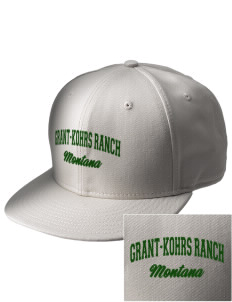 Grant-Kohrs Ranch National Historic Site  Embroidered New Era Flat Bill Snapback Cap