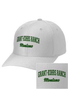 Grant-Kohrs Ranch National Historic Site Embroidered Wool Adjustable Cap