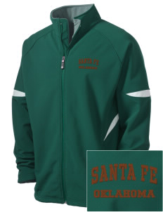 Santa Fe National Historic Trail Holloway Embroidered Men's Radius Zip Front Jacket