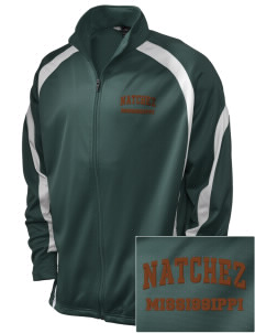 Natchez National Historical Park Embroidered Holloway Men's Tricotex Warm Up Jacket