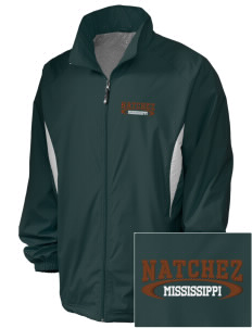 Natchez National Historical Park Embroidered Holloway Men's Full-Zip Jacket