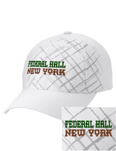 Federal Hall National Memorial Embroidered Mixed Media Cap