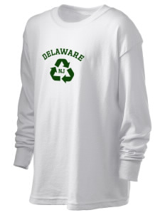Delaware National Scenic River Kid's 6.1 oz Long Sleeve Ultra Cotton T-Shirt