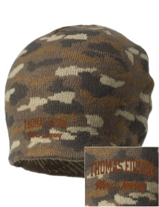 Thomas Edison National Historical Park Embroidered Camo Beanie