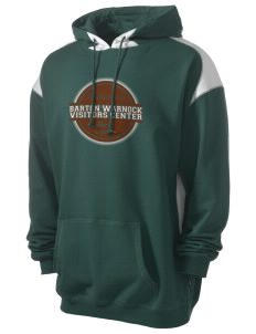 Barton Warnock Visitors Center Men's Pullover Hooded Sweatshirt with Contrast Color