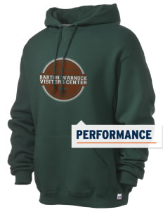 Barton Warnock Visitors Center Russell Men's Dri-Power Hooded Sweatshirt