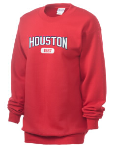 University of Houston Cougars Unisex 7.8 oz Lightweight Crewneck Sweatshirt