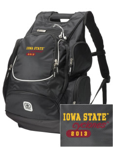 Iowa State University Cyclones  Embroidered OGIO Bounty Hunter Backpack