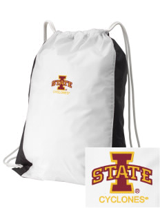 Iowa State University Cyclones Embroidered Holloway Home and Away Cinch Bag