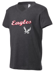 Eastern Washington University Eagles Kid's V-Neck Jersey T-Shirt