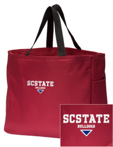 South Carolina State University Bulldogs Embroidered Essential Tote