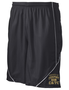 "Pierpont Community & Technical College C&TC Men's Pocicharge Mesh Reversible Short, 9"" Inseam"