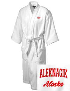 Aleknagik Embroidered Terry Velour Robe
