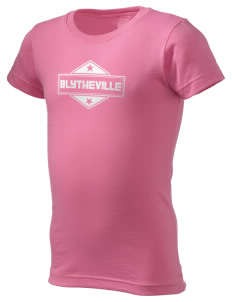Blytheville  Girl's Fine Jersey Longer Length T-Shirt
